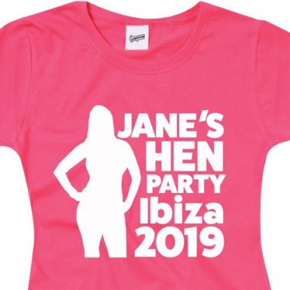 Hen Party T Shirt Ladyfit B1 2