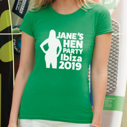 Hen Party T Shirt Ladyfit B1 1