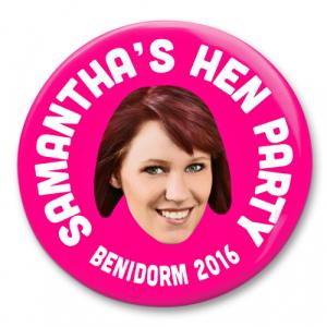 Hen Party Photo Badge