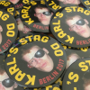 stag party photo badge