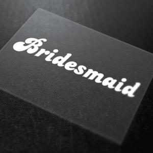 Bridesmaid Iron On Transfers 4