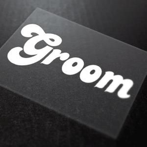 Groom Iron-On Transfer 10