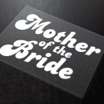 Mother Of The Bride Iron-On Transfer 6