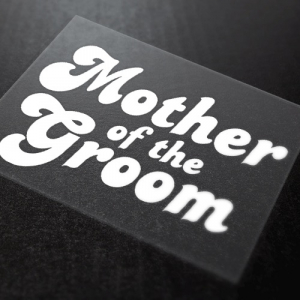 Mother Of The Groom Iron-On Transfer 15