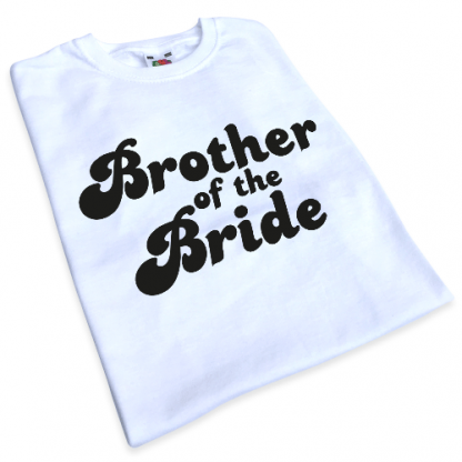 Brother of the Bride Iron-On Transfer 2