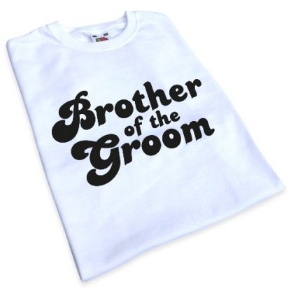 Brother of the Groom Iron-On Transfer 3