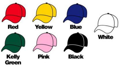 Personalised Caps Name 3