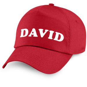 Personalised Caps Name 1