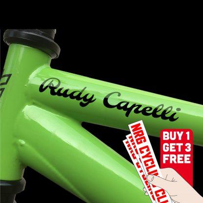 vinyl stickers for bikes
