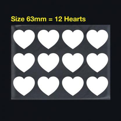 Iron On Transfer Hearts 1