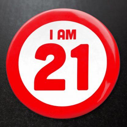 I am Personalised Badge 1