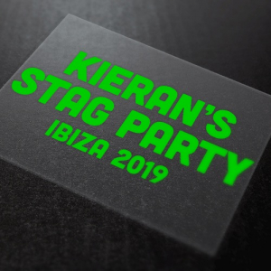 Stag Party Iron-On Transfer 010 1