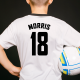 Player Name And Number Iron On Transfers
