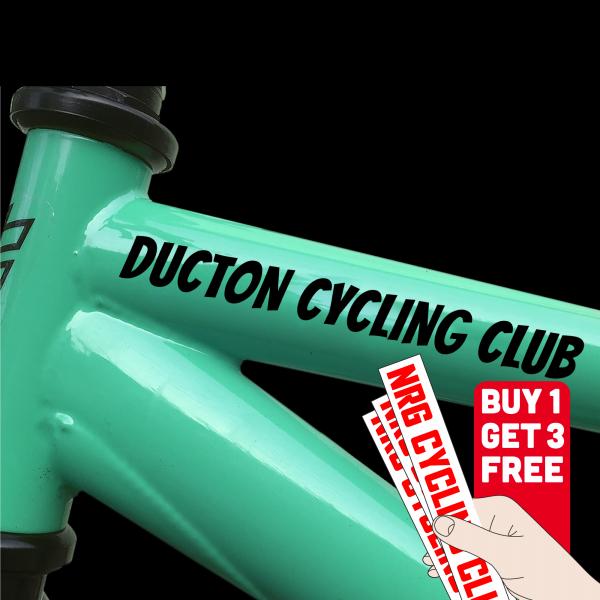 vinyl sticker for bikes
