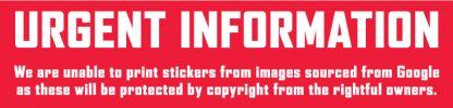 """1"""" Full Colour Vinyl Stickers - Quantity 672 1"""