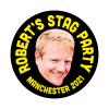 Stag Party Photo Sticker
