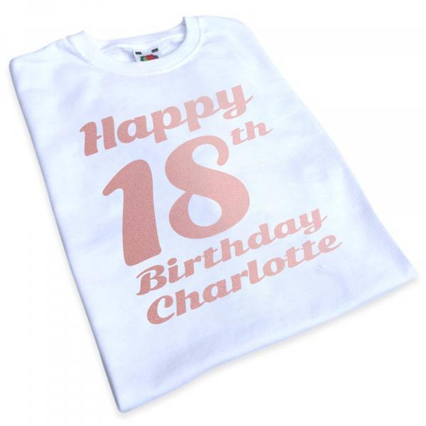iron on happy birthday transfer
