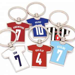 football shirt keyring