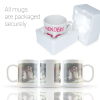 All mugs are packaged securely in polystyrene